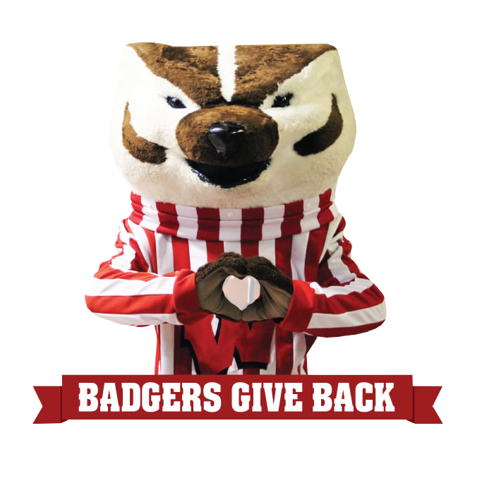 Badgers Give Back