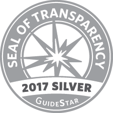Guide Star Seal 2017 given to Habitat for Humanity