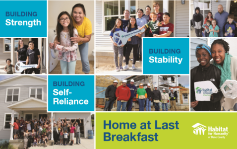 Families that Habitat has helped build strength, stability and self-reliance