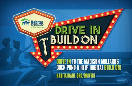 Drive In. Build On. Artwork